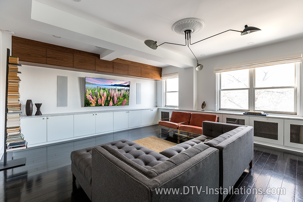 3-way luxury in-wall Monitor Audio speakers in Brooklyn, NY