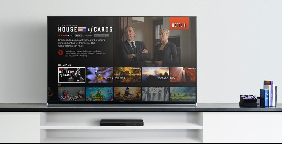4k ultra HDcontent guide Netflix
