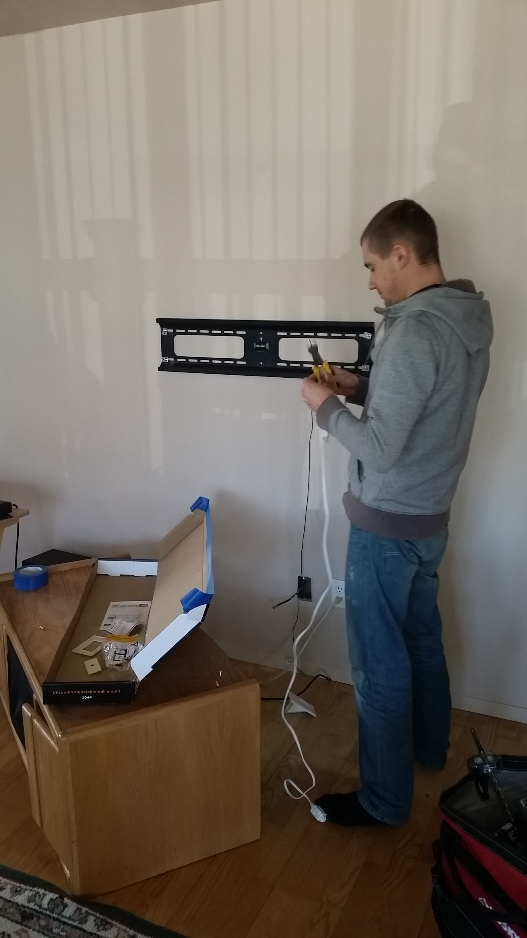 Cable Box and Soundbar Cables for home theater installation in Hampton, NY