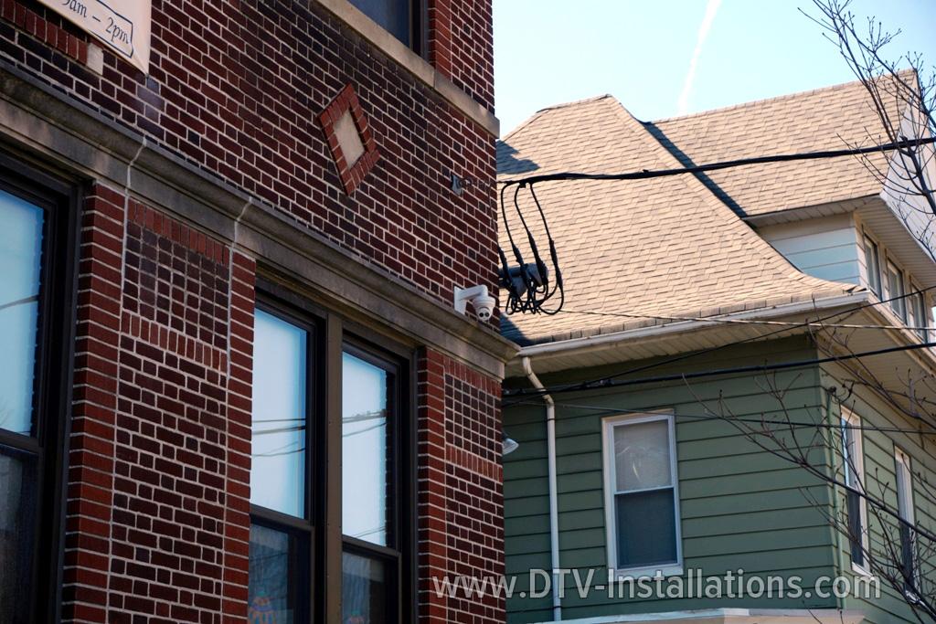 CCTV camera on NY building