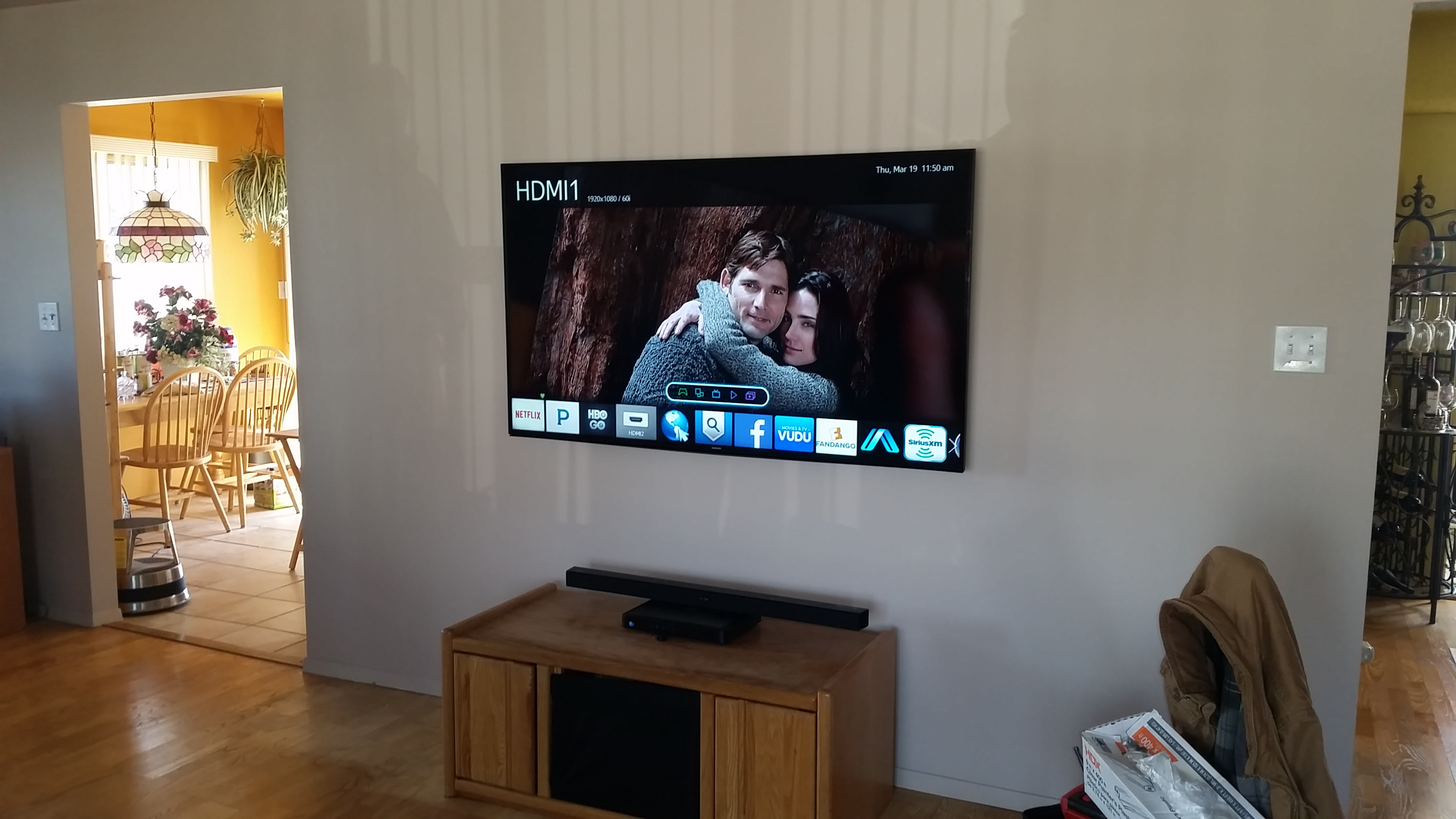 Completed Project of home theater installation in Hampton, NY