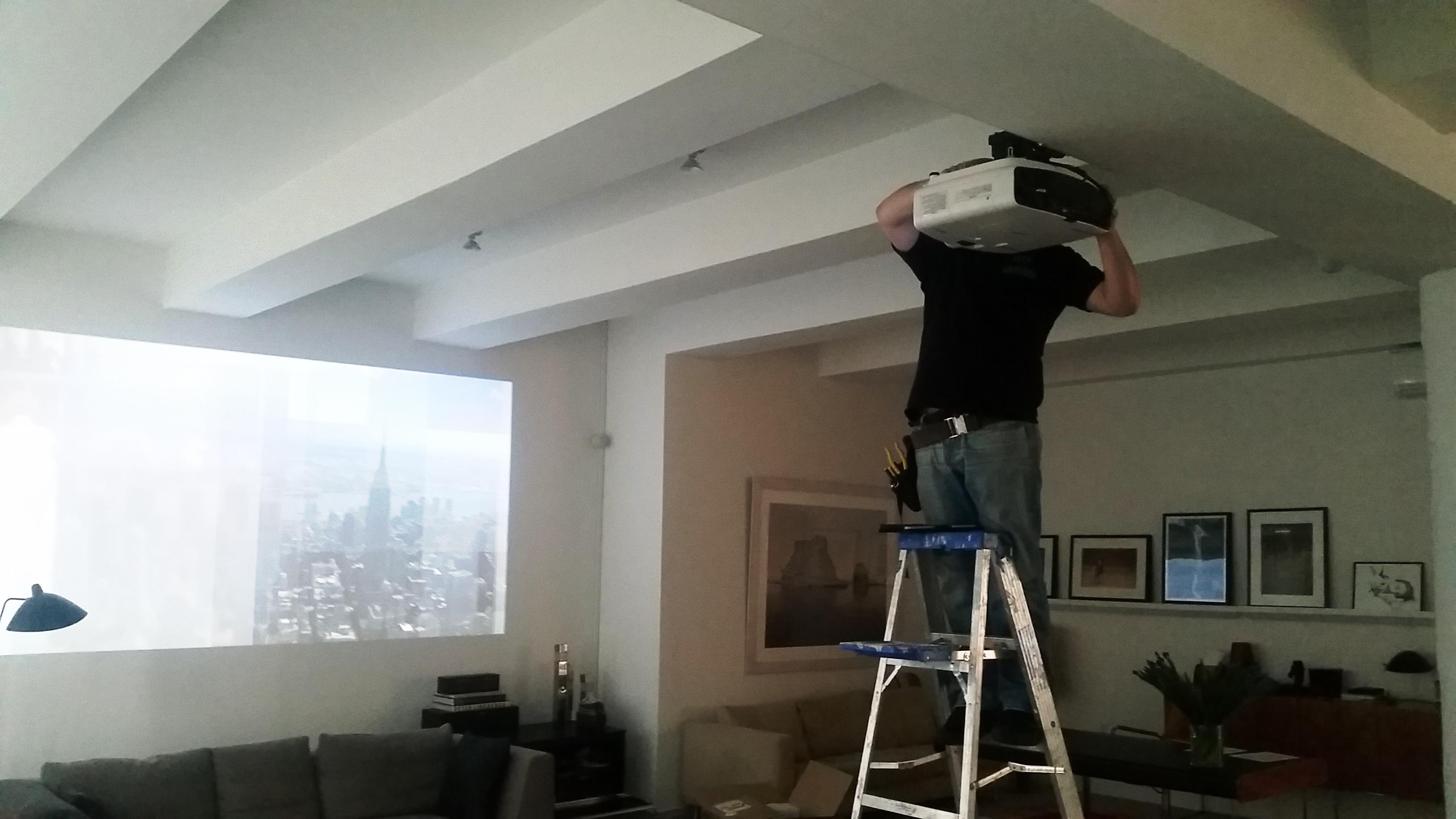 Epson PowerLite Pro G6550WU WUXGA 3LCD Projector Installation