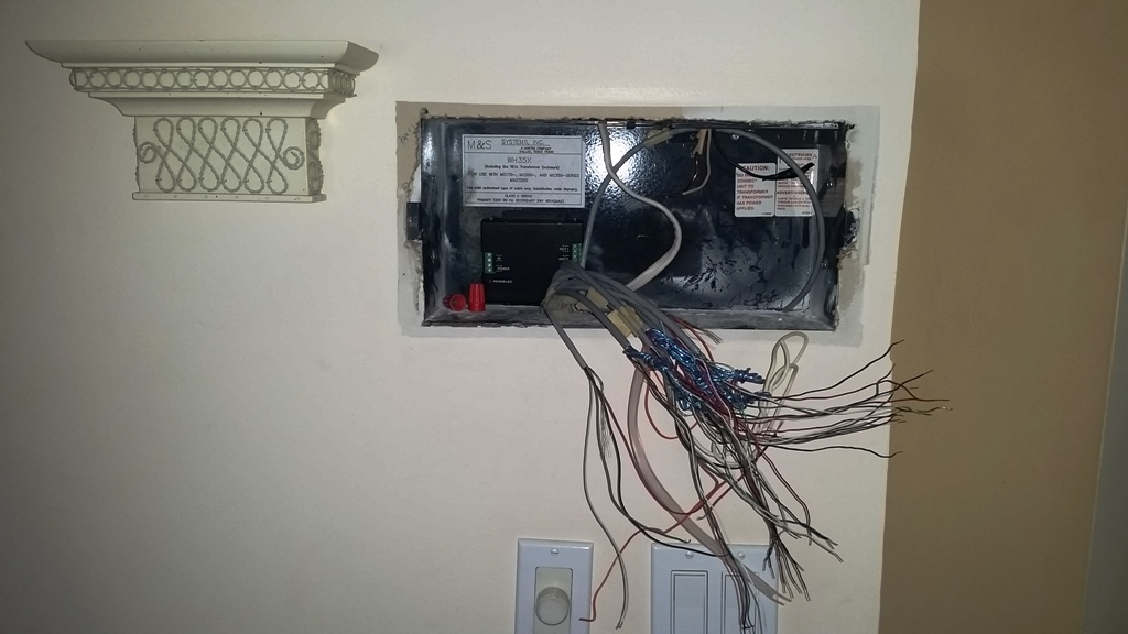 Existing Intercom Wiring