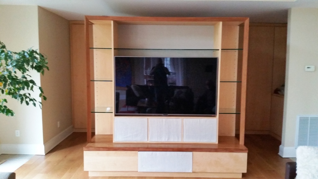 Finished TV Installation in NJ