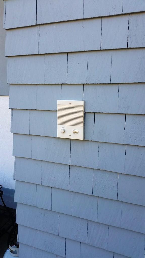 Front Door COMELIT Intercom Unit With Doorbell