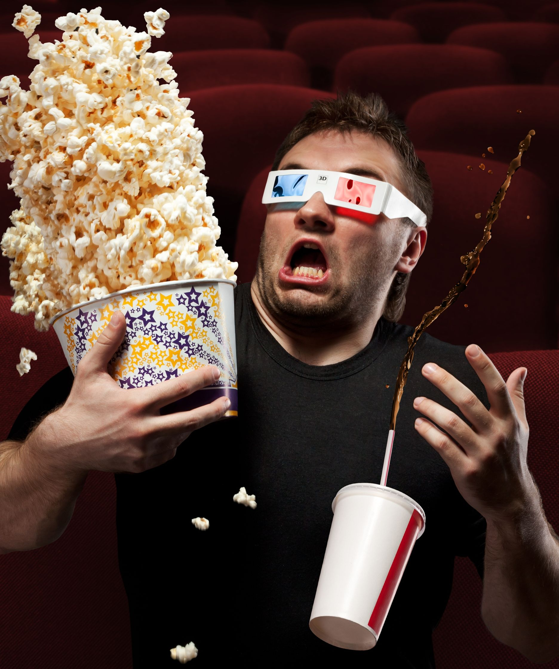 Full real 3D movie experience