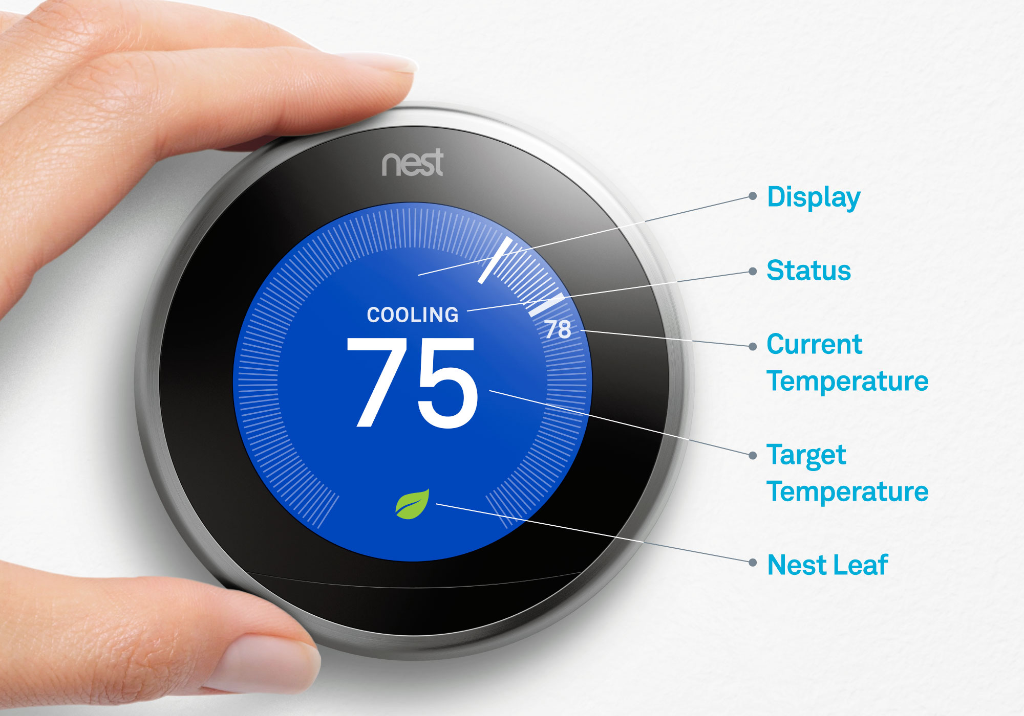 Cool Nest Thermostat Functions