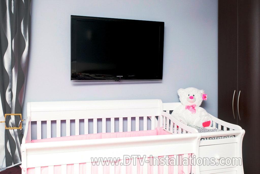 HDTV Mounting in Children's' Bedroom