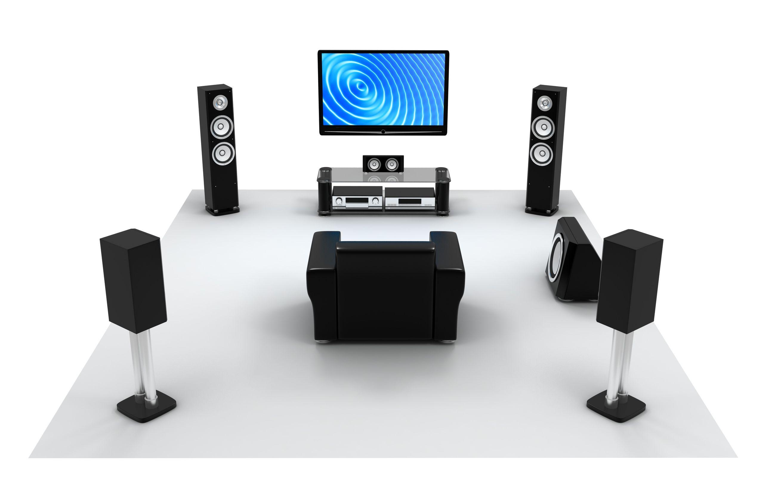 Ideal Speaker Locations For 5.1 Audio