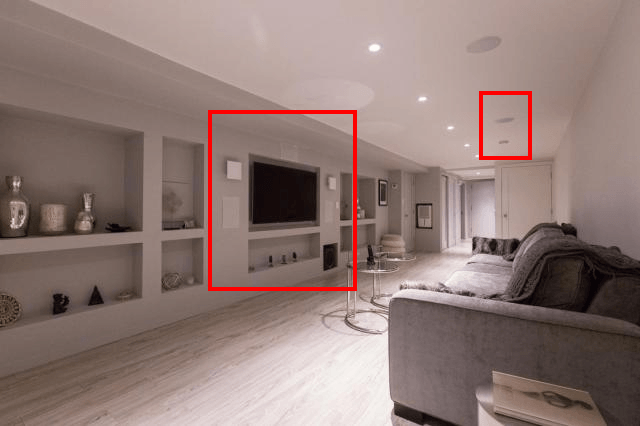 In Wall Home Theater Systems why is everyone using in-wall invisible speakers with their home