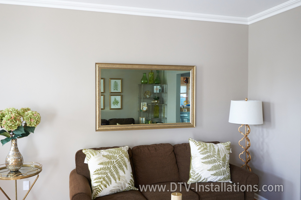 Installing Three Large-Screen HDTVs & State-Of-The-Art Mirror TV  Monroe, NJ
