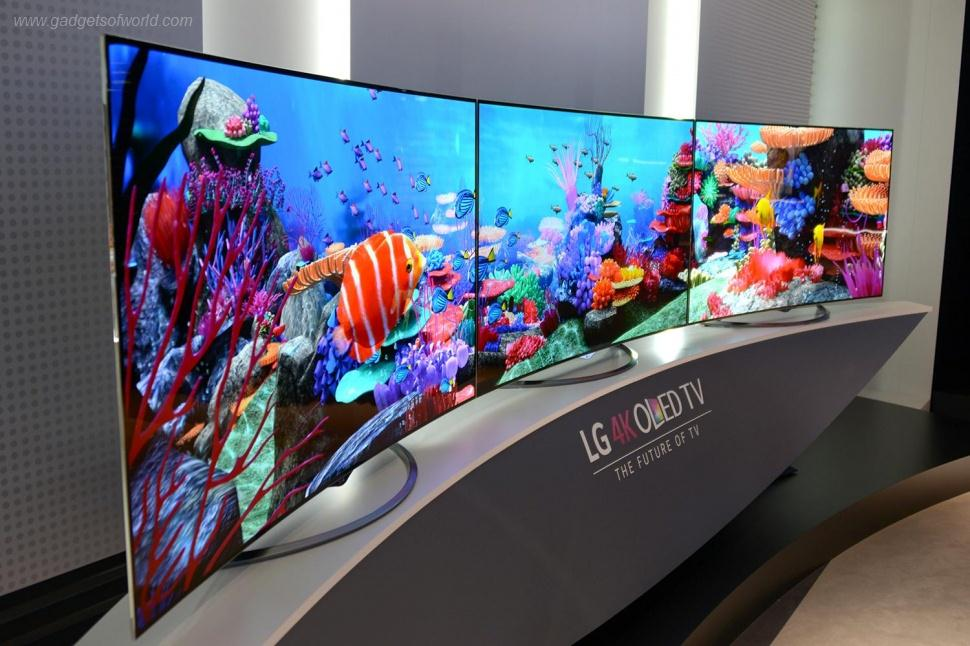 LG's first Ultra HD 4K OLED TV