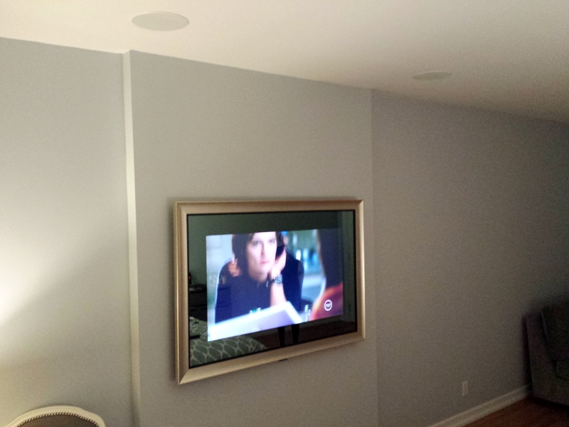Mirror TV SEURA supplied and installed by DTV.
