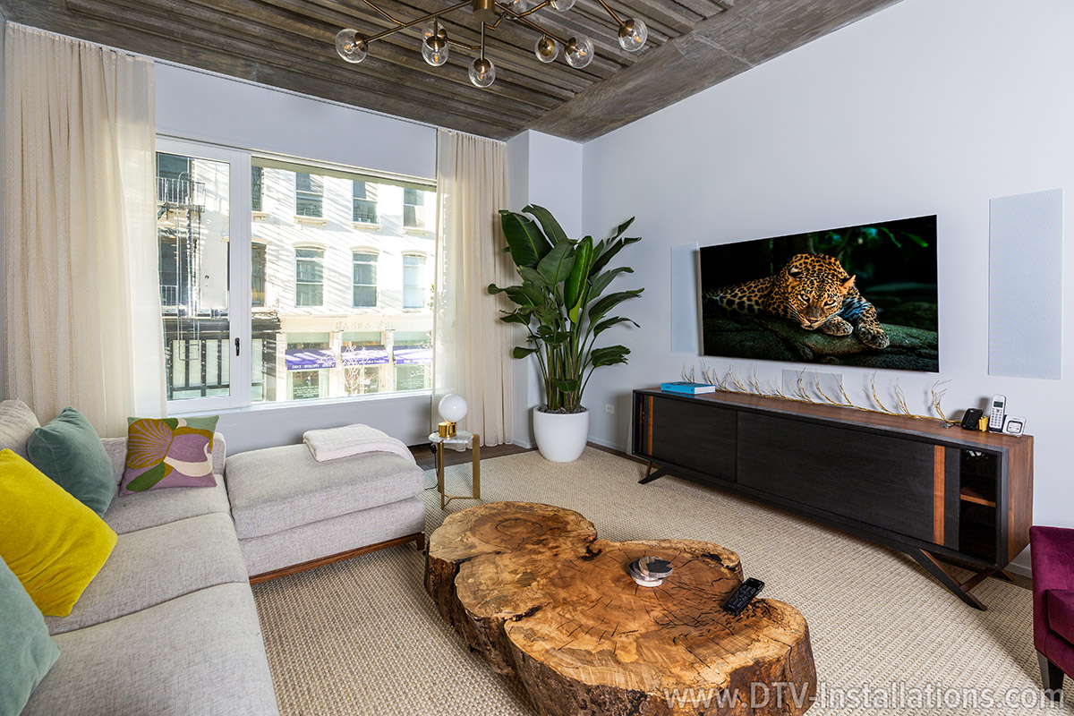 Monitor Audio W250-LCR in-wall audio speakers for home theater in Manhattan, NY