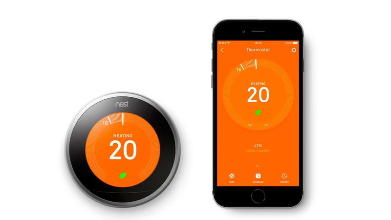 Nest Thermostat App for Smartphone