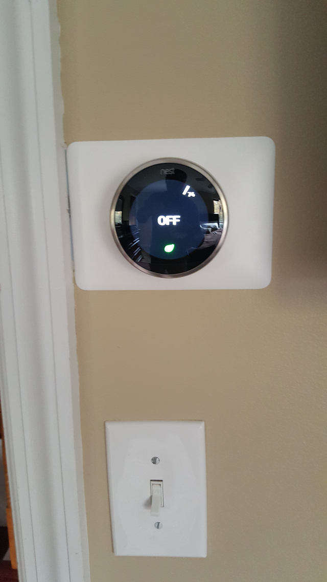 NEST thermostat provided home climate automation