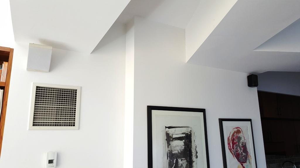 New speakers installed
