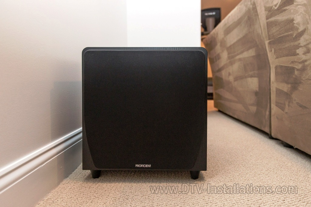 Proficient Protégé FS12 powered subwoofer
