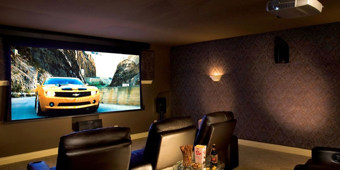 Projector Screen Home Theater