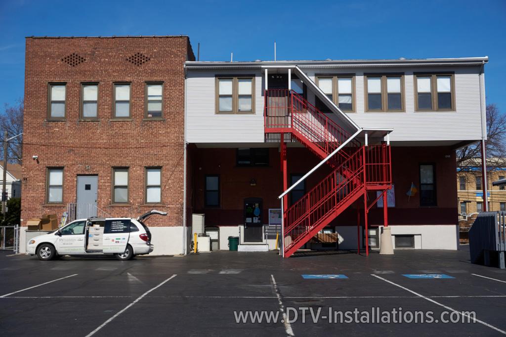 CCTV cameras installation at School in New York