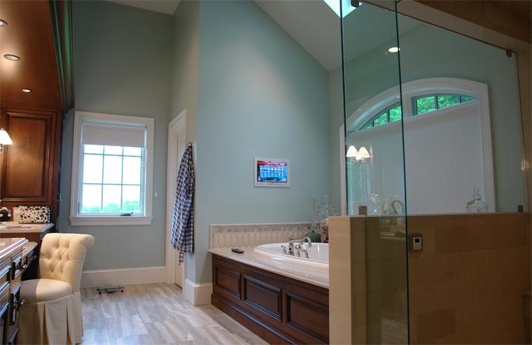 shower and bathroom waterproof tv