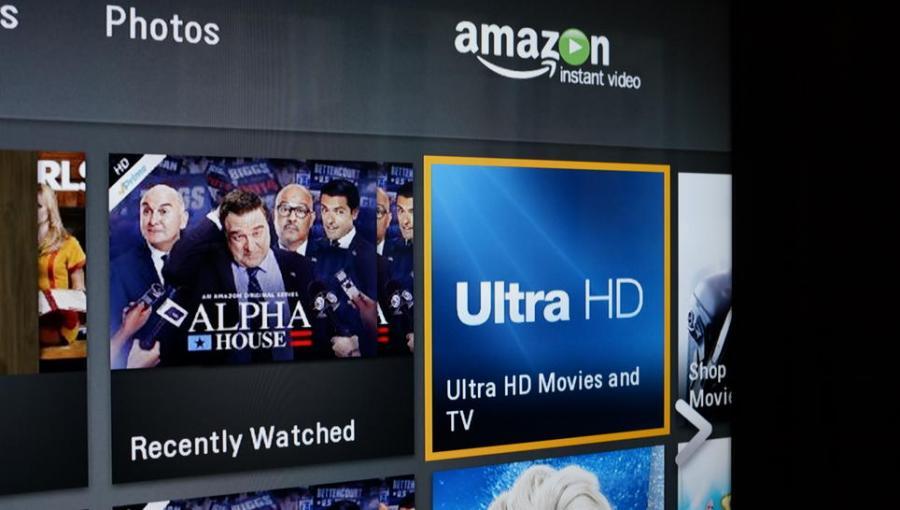 Amazon TV box and remote control