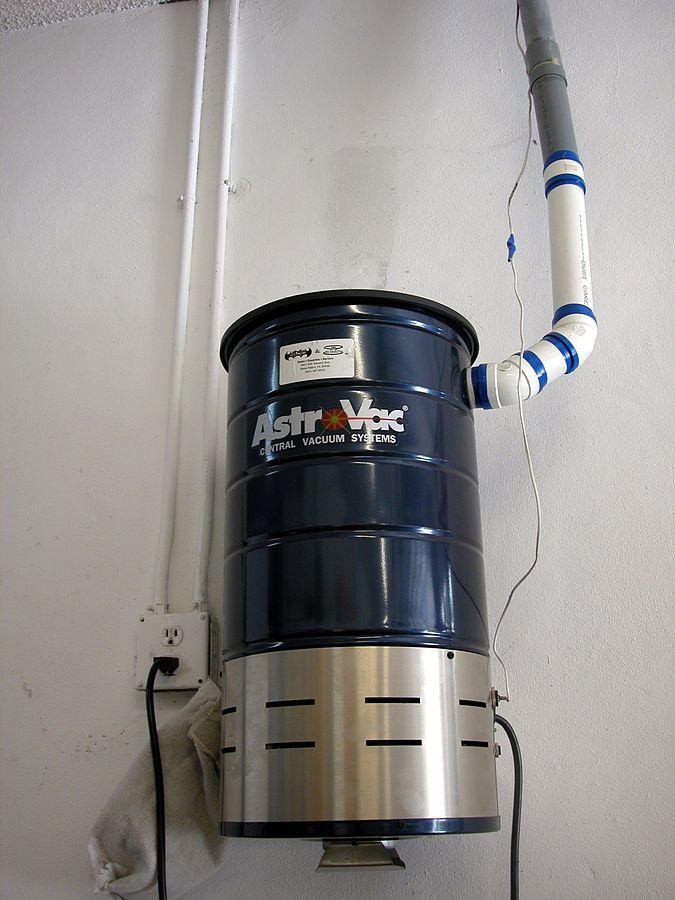 Central vacuum system power unit