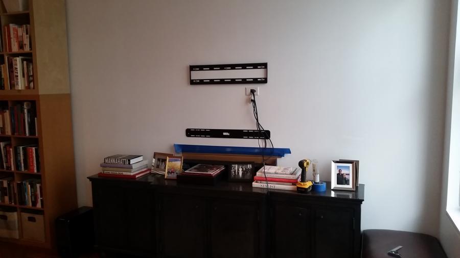 Cmple Tv Tilt Mount Bracket And Wall For Sonos Sound Bar Jpg