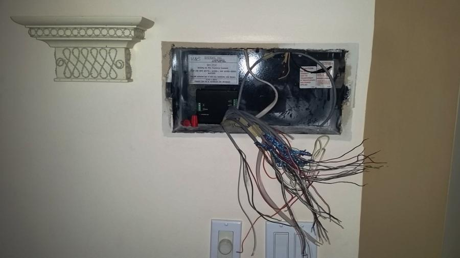 Existing Intercom Wiring