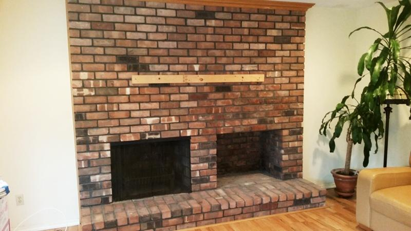 Tv Mount On Brick Fireplace Fireplaces