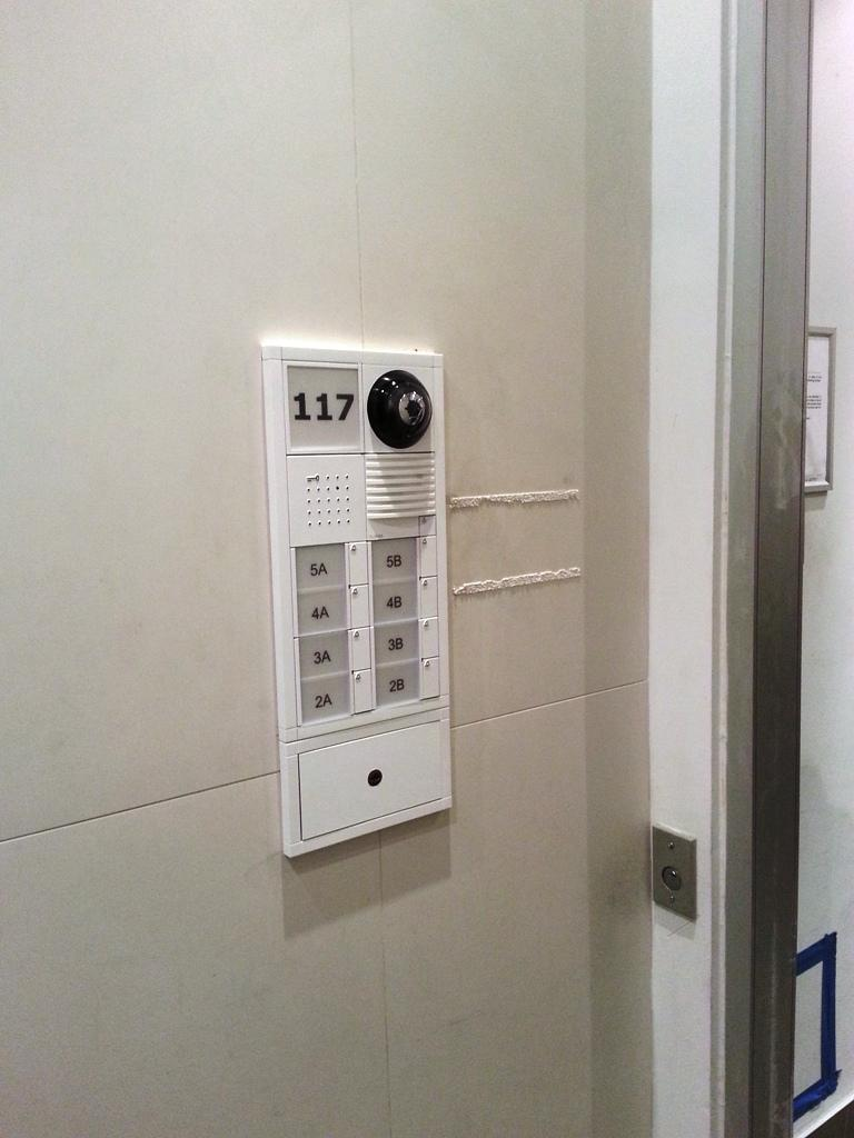 Installed Video Intercom Unit Lower East Side, NY