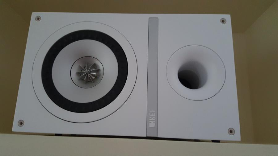 KEF high end bookshelf speakers
