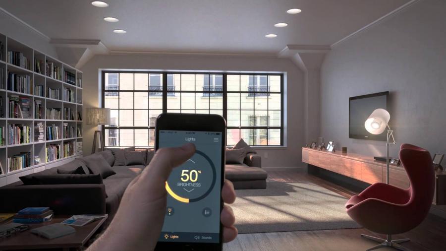 Lutron Lighting Control App for Smartphone