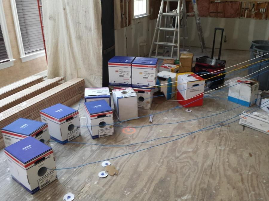 Residential Structured Wiring Project | Scarsdale, NY | DTV ...