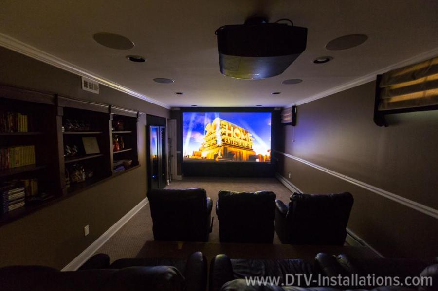 screen innovations motorized projector screen