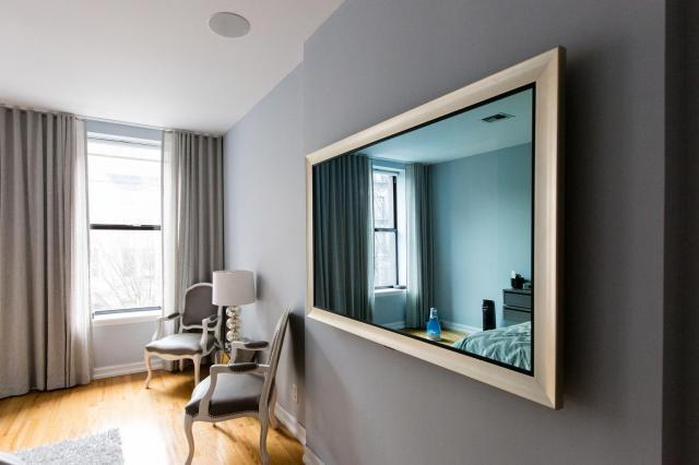 Seura 46 Mirror Tv Manhattan Ny Dtv Installations