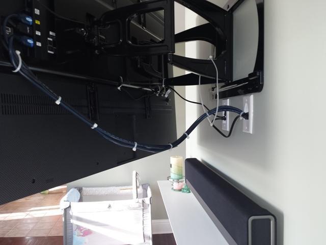 Falt Screen Tv Mounted Amp Wi Fi Sonos Sound System Croton