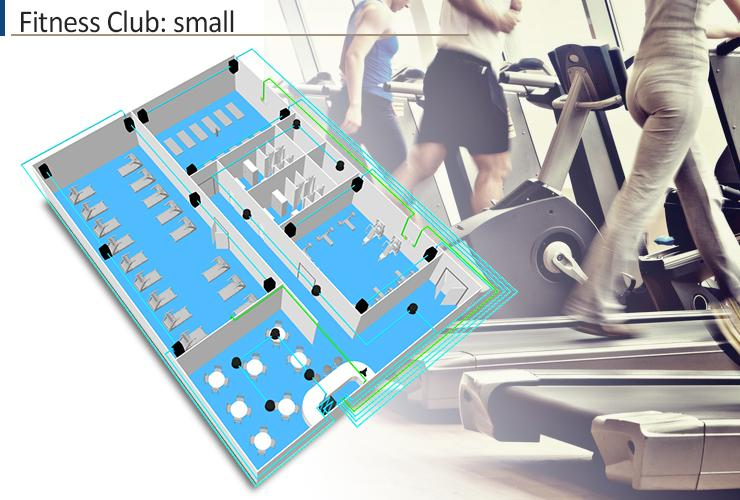 Sound design for fitness clubs and gym in new york