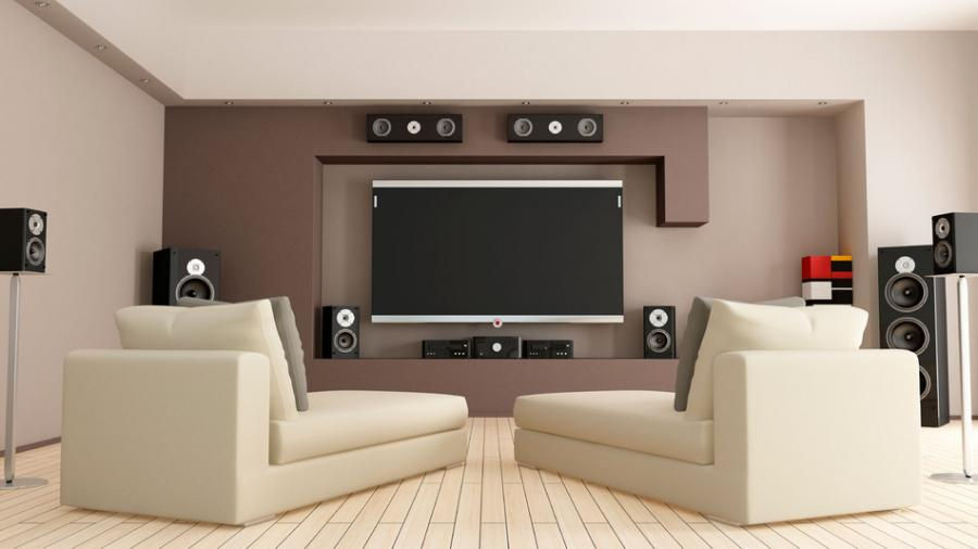 Elegant Correct Speaker Placement: The Key Consideration For Home Theater Audio |  DTV Installations