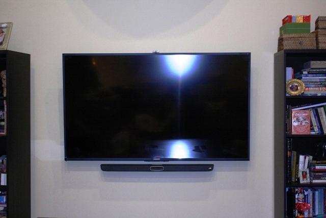 Tv Mounted In The Bedroom Great Neck Ny Dtv Installations