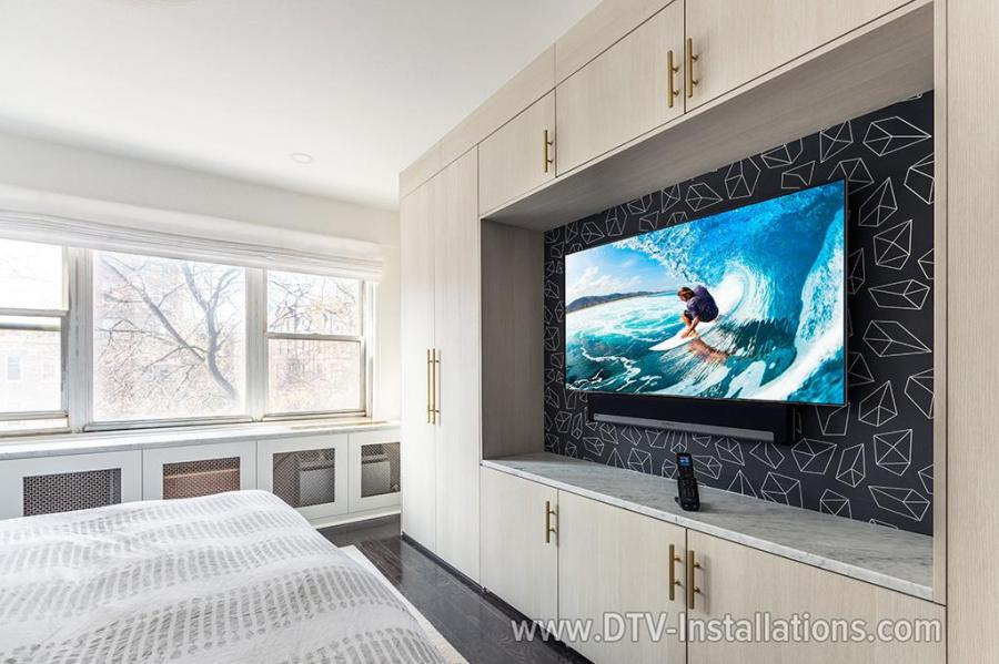 TV wall mounting and installation in Brooklyn, NY