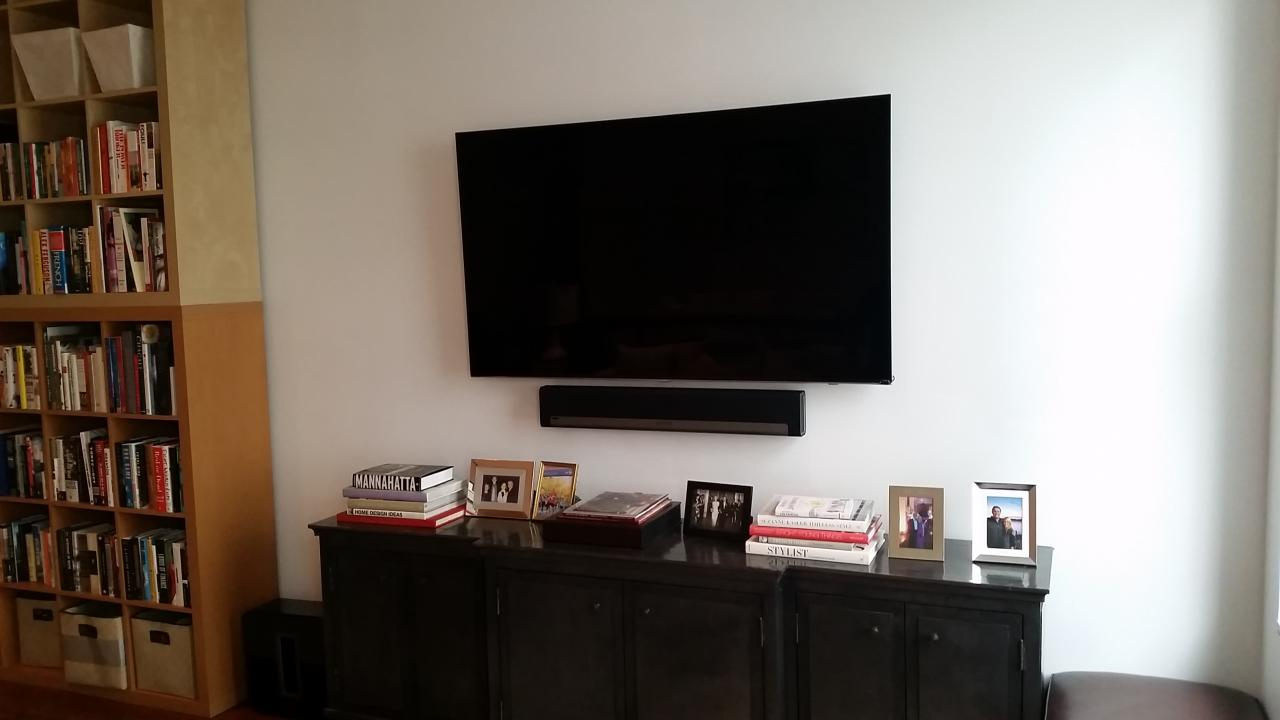 Tv Wall Mounting Amp Wireless Sound Setup Business