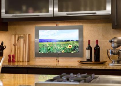 seura-kitchen-stainlesssteel tv waterproof