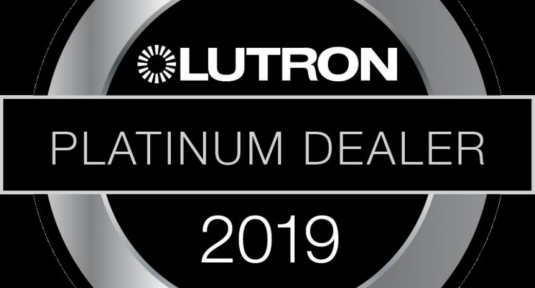 Lutron Platinum Dealer Status Awarded To DTV Installations