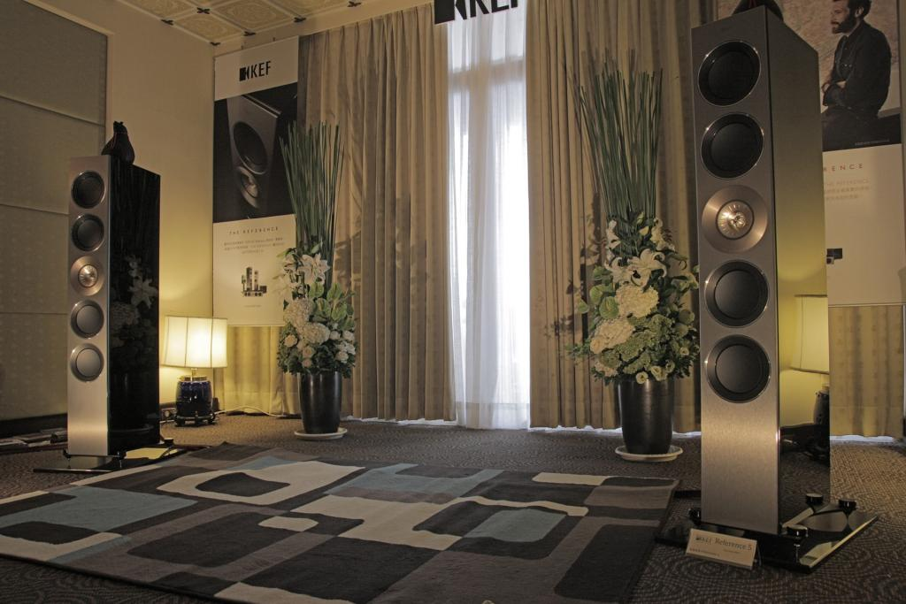 High-End 5.1 Home Theater System with KEF Reference Speakers