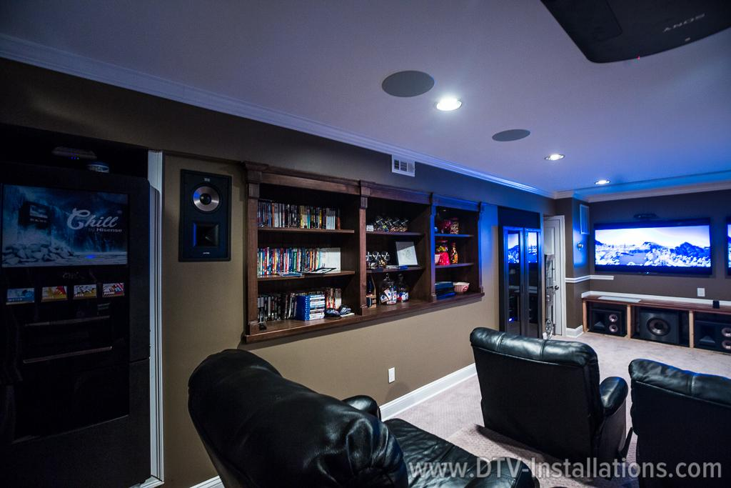 Mega project home theater media room outdoor - Thx home cinema ...
