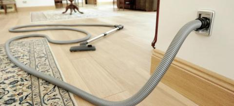 How a Central Vacuum Cleaner Saves You Energy