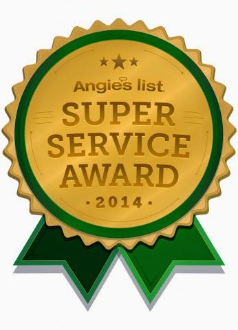 DTV Installations Earns Esteemed 2014 Angie's List Super Service Award!