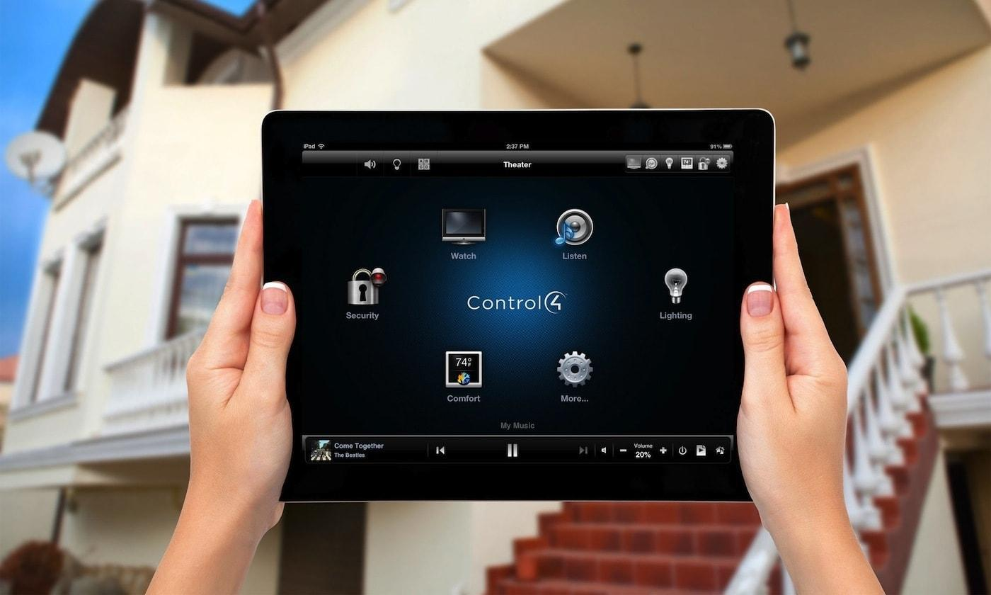 Control4 Intercom integration on the iPad