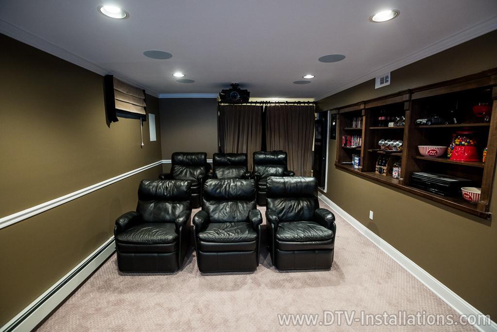 custom home theater seating